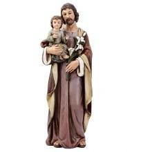 "ST JOSEPH WITH CHILD 25"" STATUE"