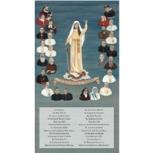 26 CHAMPIONS OF THE ROSARY CANVAS GALLERY - WRAPPED PRINT