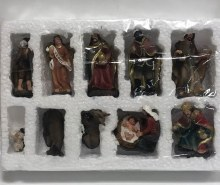 "NATIVITY 3"" 10 PC"