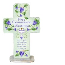 "4"" COMMUNIONN STANDING CROSS"