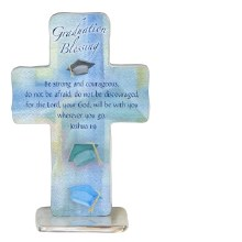 "4"" GRADUATION BLESSING CROSS"