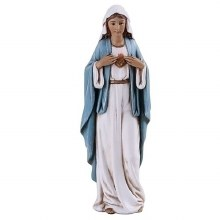 """IMMACULATE HEART OF MARY 4"""" STATUE"""