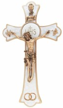 "8"" HOLY MASS CRUCIFIX WEDDING"