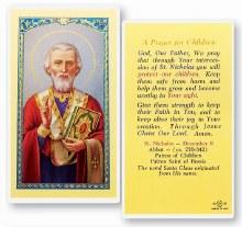 A PRAYER FOR CHILDREN- ST NICHOLAS