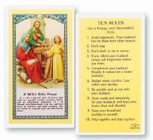 A WIFE'S DAILY PRAYERS