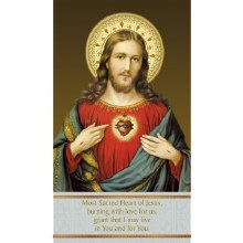 AN ACT OF SPIRITUAL COMMUNION PRAYER CARD