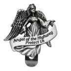 ANGEL OF THE HIGHWAY VISOR CLIP