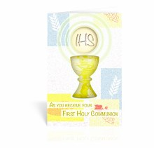 AS YOU RECEIVE YOUR 1ST HOLY COMMUNION CARD