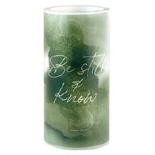 BE STILL & KNOW LED CANDLE