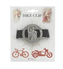 BIKE CLIP ST CHRISTOPHER ELASTIC BAND