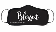BLESSED SOUTHERN COUTURE MASK