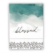 BLESSED POCKET NOTEPAD