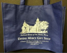 NATIONAL SHRINE OF THE DIVINE MERCY TOTE BAG
