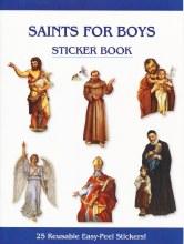 BOY SAINT STICKER BOOK