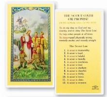 BOY SCOUT OATH OF PROMISE PRAYER CARD