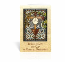 BREAD OF LIFE 1ST COMMUNION CARD