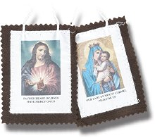 BROWN SCAPULAR LARGE