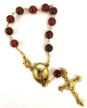 ONE DECADE ST MICHAEL AUTO ROSARY