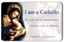 I AM CATHOLIC POCKET CARD