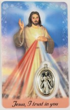 PRAYER CARD WITH MEDAL