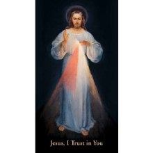 CHAPLET OF THE DIVINE MERCY, VILNIUS PRAYERCARD