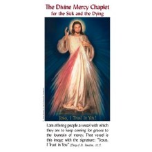 DIVINE MERCY CHAPLET FOR THE SICK & THE DYING PAMPHLET