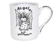 ANGELS ARE EVERYWHERE MUG