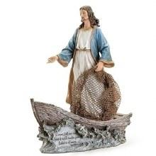 CHRIST THE FISHERMAN STATUE