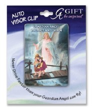 COLOR GUARDIAN ANGEL ARTMETAL VISOR CLIP
