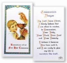 COMMUNION PRAYER BOY