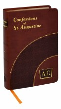 CONFESSIONS OF ST AUGUSTINE BROWN IMITATION LEATHER