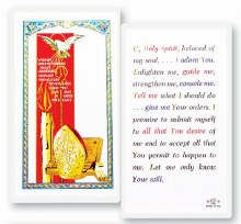 CONFIRMATION HOLY SPIRIT PRAYER CARD