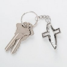 CROSS FISH KEY CHAIN