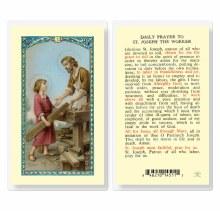 DAILY PRAYER TO ST. JOSEPH THE WORKER