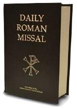 DAILY ROMAN MISSAL, 7TH EDITION, BLACK