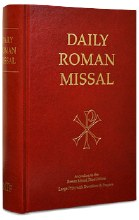DAILY ROMAN MISSAL W/ DEVOTIONS AND PRAYERS, 7TH ED, LARGE PRINT, HARDCOVER