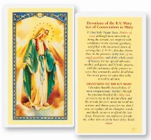 DEVOTIONS OF THE BLESSED VIRGIN MARY