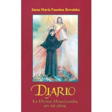 SPANISH DIARY ST FAUSTINA SOFT COVER