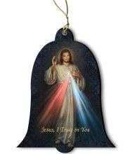 Divine Mercy Bell Ornament