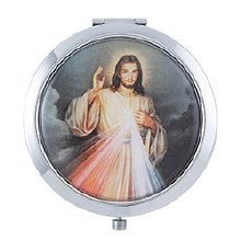 DIVINE MERCY COMPACT MIRROR
