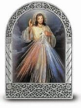 DIVINE MERCY METAL EASEL