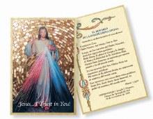 SPANISH DIVINE MERCY MOSAIC PLAQUE