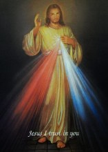 DIVINE MERCY BLANK NOTE CARDS