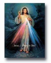 DIVINE MERCY POSTER 19X27