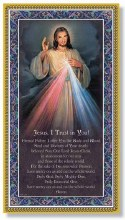 "DIVINE MERCY PRAYER PLAQUE 5"" X 9"""