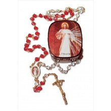 DIVINE MERCY ROSARY GIFT SET