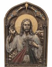 DIVINE MERCY STANDING PLAQUE