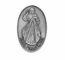 DIVINE MERCY VISOR CLIP OVAL