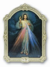 MULTI-LAYERED DIMENSIONAL DIVINE MERCY PLAQUE