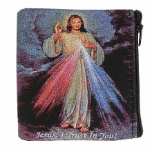 DIVINE MERCY ROSARY POUCH